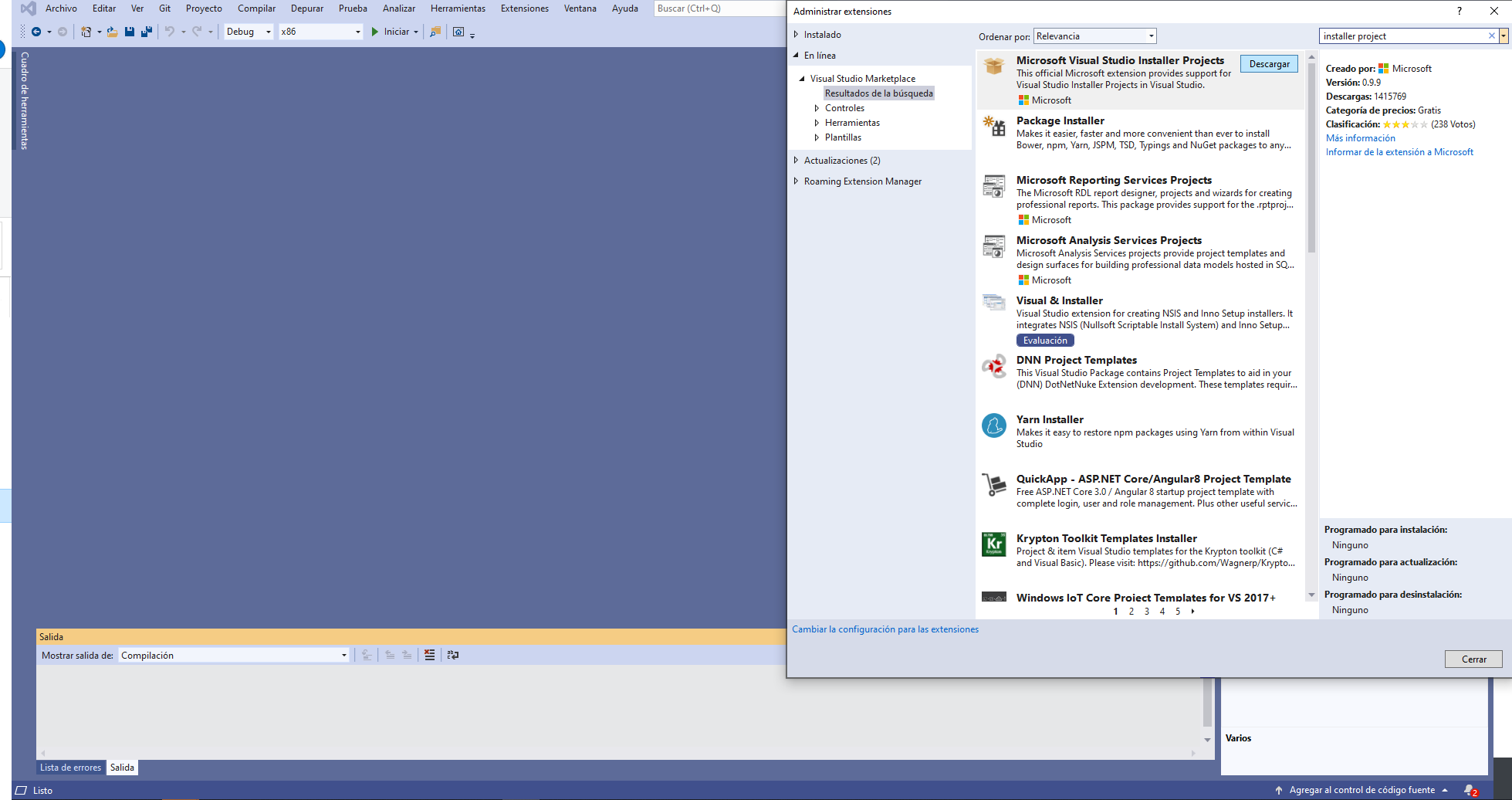 Visual Studio 2019: Issue with VDPROJ Projects